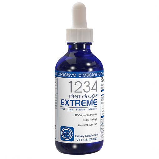 1234 diet drops extreme bottle