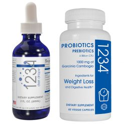 1234 diet drops & probiotic 1234