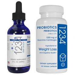 1234 diet drops & Probiotics 1234